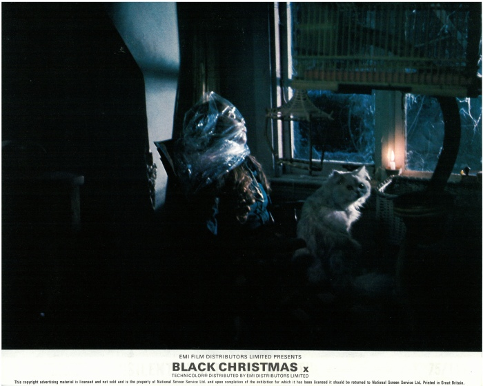 Meathook Cinema Archives- 'Black Christmas' (1974) UK lobby cards