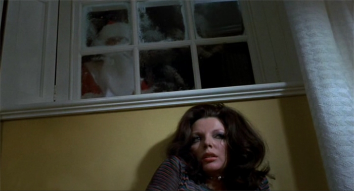 Joan Collins vs Santa Claus