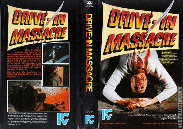 Drive-In Massacre pre