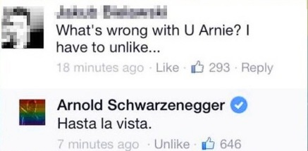 arnold-schwarzenegger-facebook-hasta-la-vista-have-to-unlike-rainbow-profile-picture 2