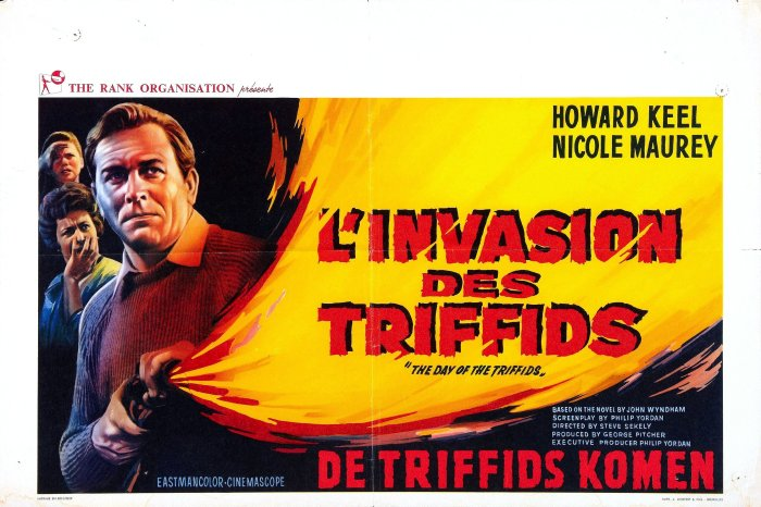 31 Days of Halloween- Day 5- Day of the Triffids (1963)