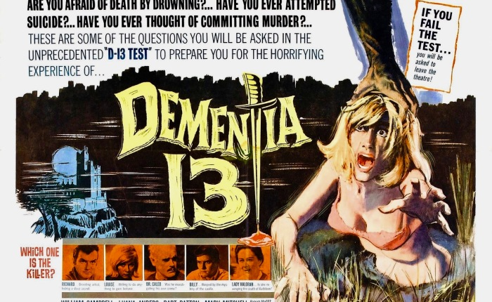 31 Days of Halloween- Day 15- Dementia 13 (1963)