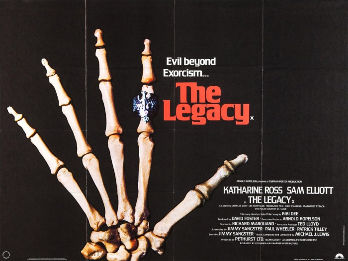 31 Days of Halloween- Day 28- The Legacy (1978)