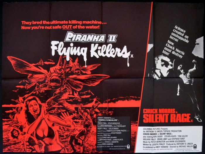 PIRANHA-II-FLYING-KILLERS-1982-Lance-Henriksen-SILENT