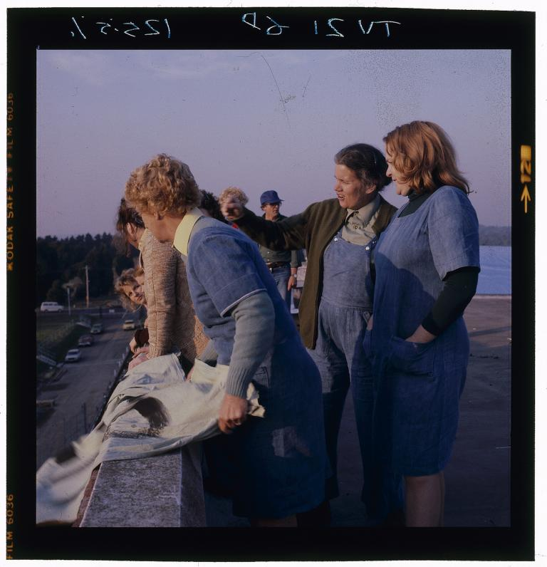 rooftop_protest_rehearsal_with_betty_bobbitt_judy_bryant_and_val_lehman_bea_smith