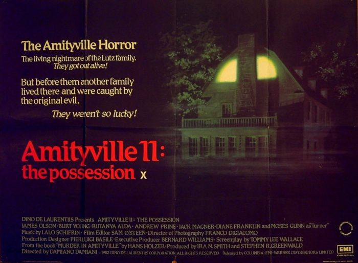 31 Days of Halloween- Day 29- The Amityville Horror Part 2- The Possession (1982)