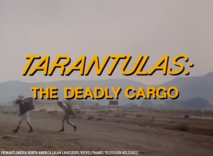 31 Days of Halloween- Day 1- Tarantulas The Deadly Cargo