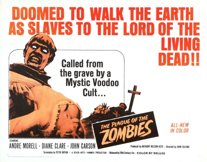 31 Days of Halloween- Day 9- Plague of the Zombies (1966)