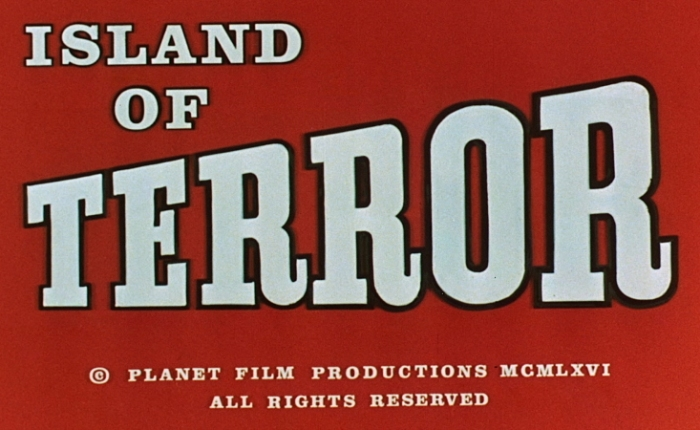 31 Days of Halloween- Day 12- Island of Terror (1966)