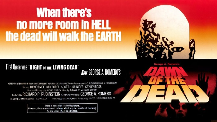31 Days of Halloween- Day 31- Dawn of the Dead (1978)