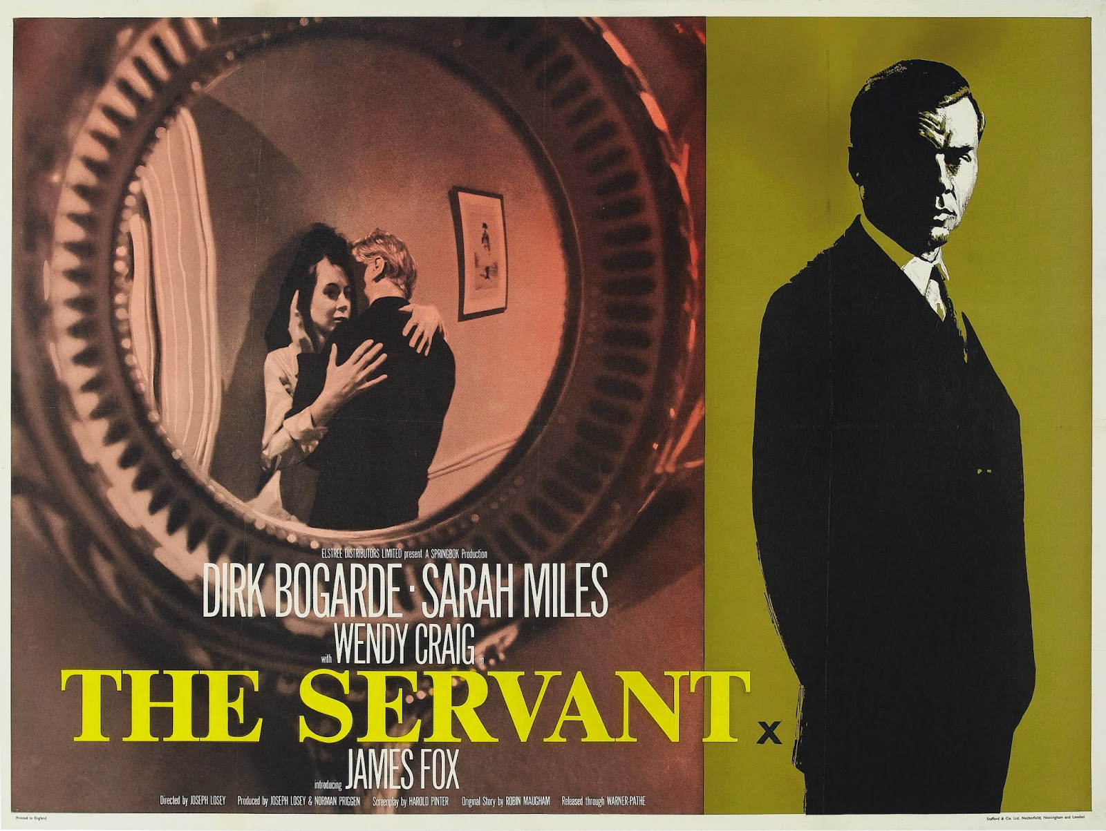 THE SERVANT - UK Poster 1