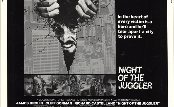 Day 1- 31 Days of Halloween- Night of the Juggler (1980)