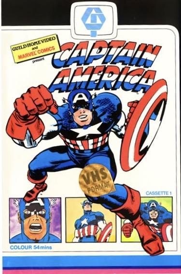 CAPTAIN AMERICA 1966 VHS