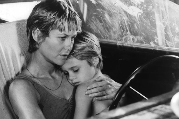 Dee-Wallace-holds-her-son-Danny-Pintauro-in-a-scene-from-the-film-Cujo-1983