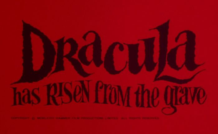 Poster of the Week- Dracula Has Risen From The Grave (1968)