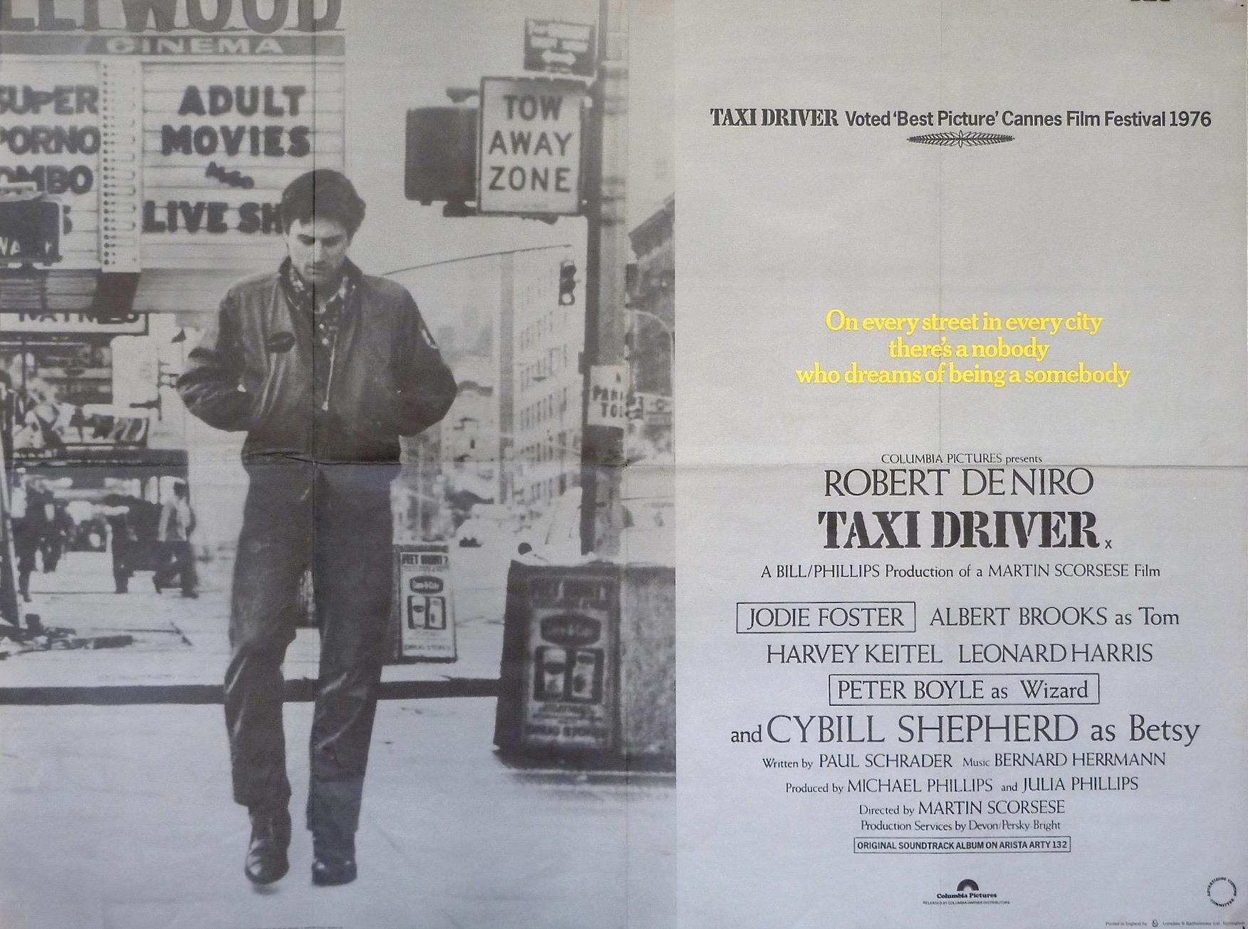 TaxiDriverQuadPoster