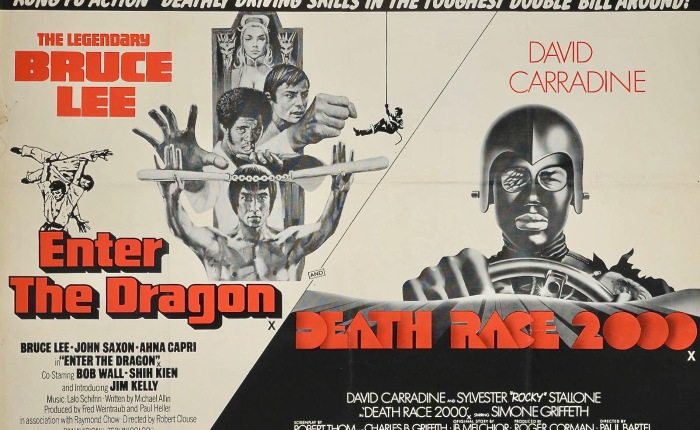 Poster of the Week- Enter The Dragon/Death Race 2000