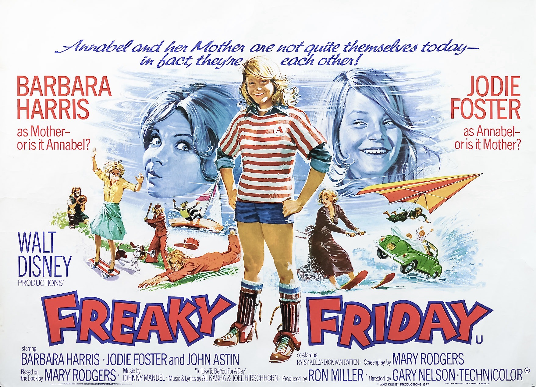 FreakyFriday1976QuadPoster