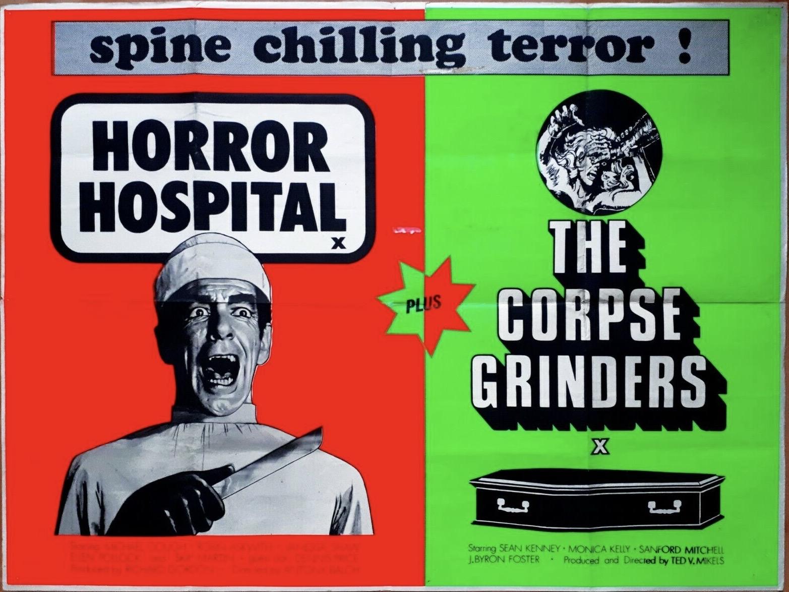 HorrorHospitalCorpseGrindersQuadPoster