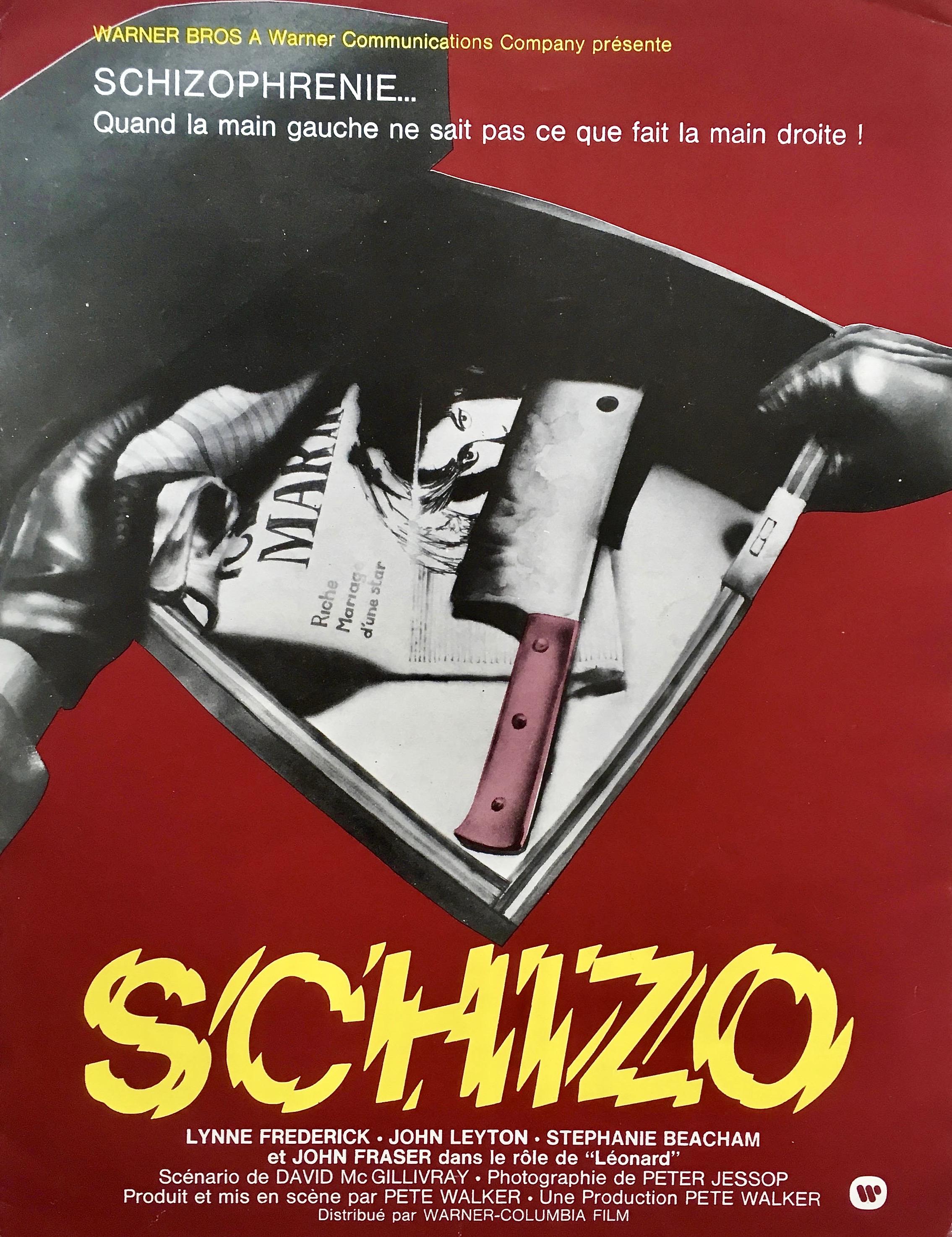 SchizoFrenchPoster