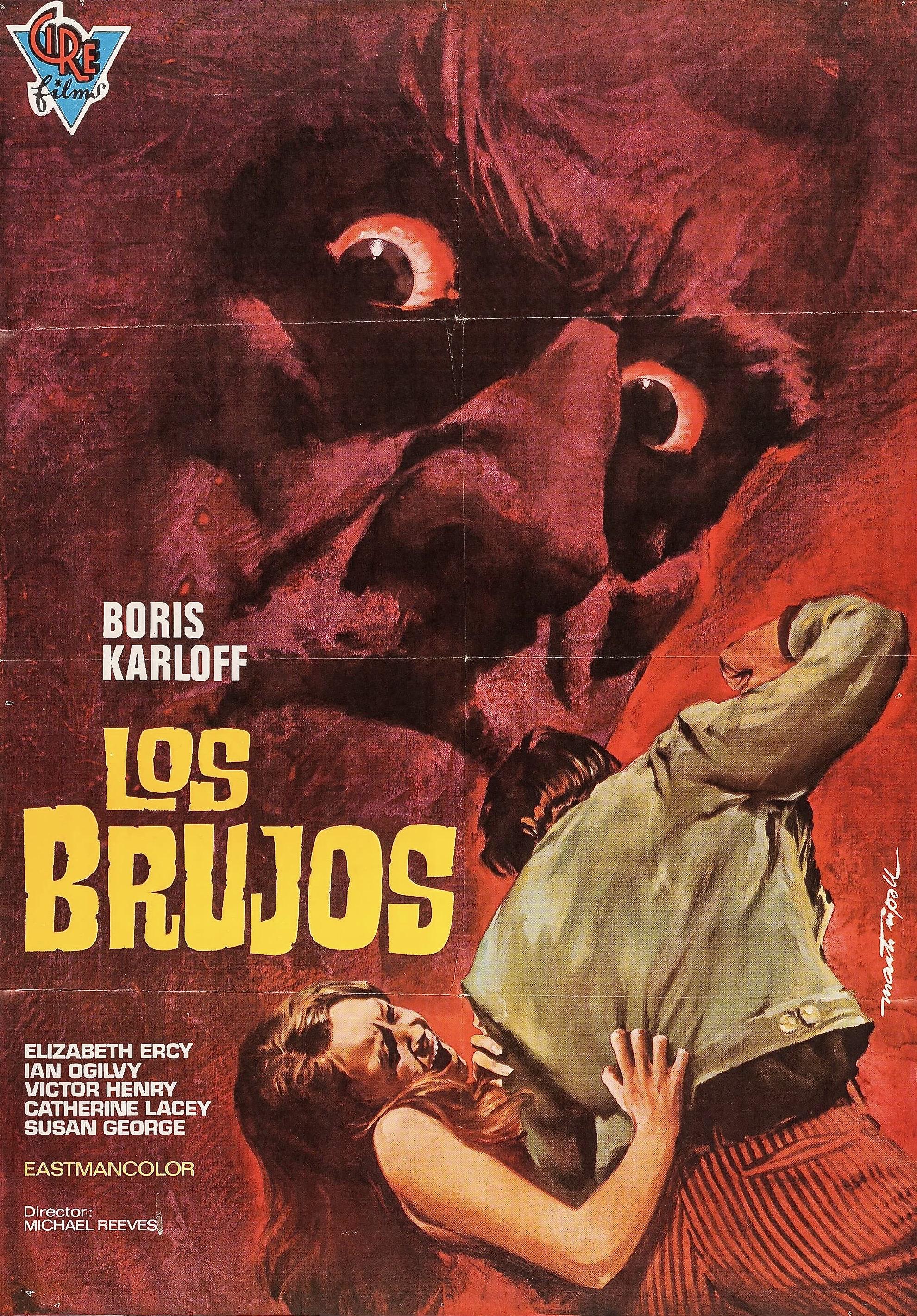 SorcerersSpanish Poster