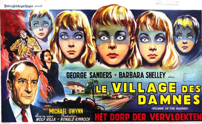 31 Days of Halloween 2020- Day 15- Village of the Damned (1960)
