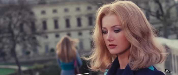 Barbara Bouchet in The Red Queen Kills Seven Times (1972)